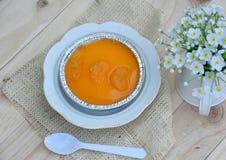 Orange cake Royaltyfri Bild