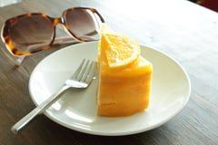 Orange cake Royalty Free Stock Photography