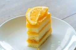 Orange cake Royalty Free Stock Image