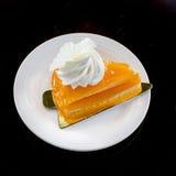 Orange cake Stock Image