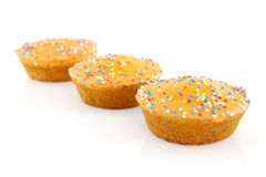 Orange cake cookies Royalty Free Stock Photo
