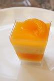Orange Cake with orange topping Royalty Free Stock Photography