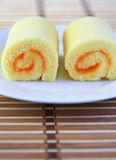 Orange Cake. Royalty Free Stock Image