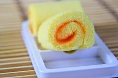Orange Cake. Stock Photography