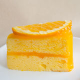 Orange cake Royalty Free Stock Image