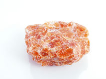 Orange calcite. Stock Image