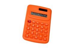 Orange calculator Stock Images