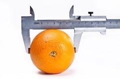 Orange and calliper Stock Images