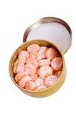 Orange candies Royalty Free Stock Images
