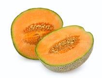 Orange cantaloupe melon Stock Photo