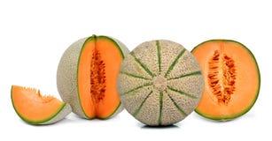 Orange cantaloupe melon Royalty Free Stock Image