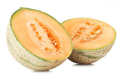 Orange cantaloupe melon Royalty Free Stock Image
