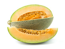 Orange cantaloupemelon Royaltyfri Foto