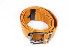 Orange canvas belt Royalty Free Stock Image