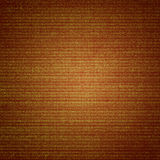 Orange canvas texture abstract  background with vignette Royalty Free Stock Photography