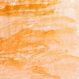 Orange canvas texture background Stock Image
