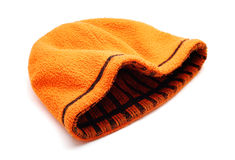 Orange cap Stock Image