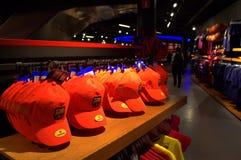 Orange caps Stock Image