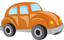 Orange car Stock Images
