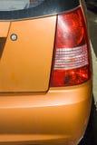 Orange car xenon back light Stock Image
