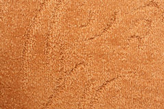 A orange carpet texture royalty free stock photography