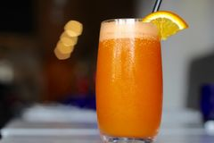 Orange and carrot Fresca Stock Photos