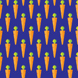 Orange carrot stock  seamless pattern background Royalty Free Stock Images