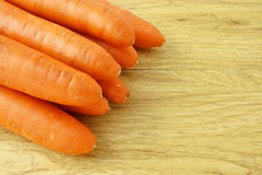 Orange carrot vegetable with carotene Royalty Free Stock Image