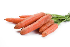 Orange carrots Royalty Free Stock Images