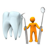 Dentist Tooth Tools Royalty Free Stock Image