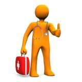 Doctor Stethoscope Case OK Royalty Free Stock Photography
