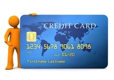 Manikin Credit Card Stock Image