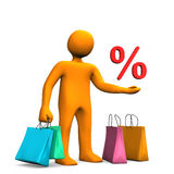 Shopping Sale Stock Images