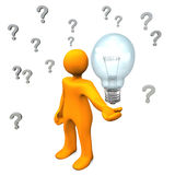 Questions Idea Stock Photography