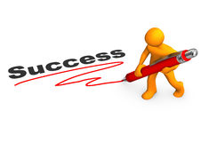 Manikin Success Stock Image