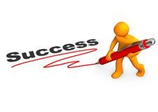 Manikin Success Stock Image