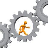Manikin Gears Stock Image
