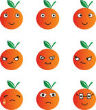 Orange cartoon Stock Photo