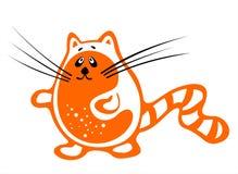 Orange cat 2 Stock Image