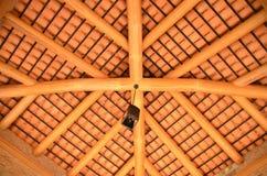 Orange ceiling Stock Photography
