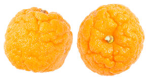 Orange cellulite peel Royalty Free Stock Images