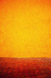 Orange cement grunge background Royalty Free Stock Image