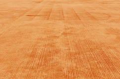 Orange cement sidewalk Royalty Free Stock Photo