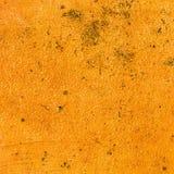 Orange cement textures grunge background Stock Photography