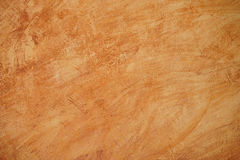 Orange cement wall background Royalty Free Stock Images