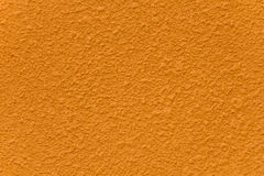 Orange cement wall painted Stock Photos