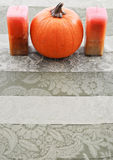 Orange Centerpiece Stock Photo