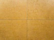 Orange ceramic tiles flooring Stock Photography