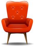 Orange chair Stock Photo