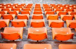 Orange chair Royalty Free Stock Image